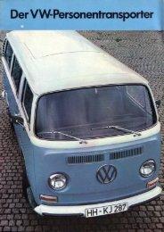 Für welchen VW-Personentransporter Sie sich auch ... - veeDUB