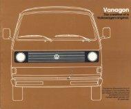 A Volkswagen original for the '80s. - veeDUB