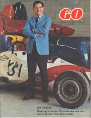 Ray Caldwell: Producer of the No.1 Formula Vee race car ... - veeDUB