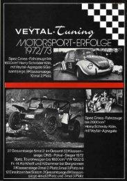Motoren-Kit's - veeDUB