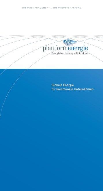 Globale Energie für kommunale Unternehmen - VerbAgentur