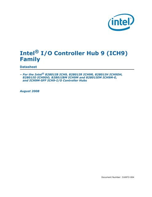 INTEL ICH9 FAMILY SMBUS CONTROLLER WINDOWS 10 DRIVERS