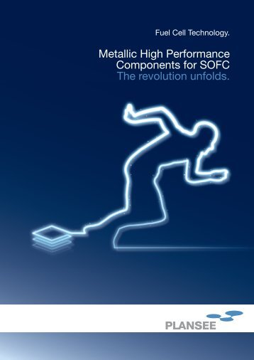 Metallic components for SOFC