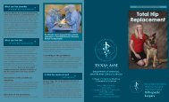 Total Hip Replacement - College of Veterinary Medicine - Texas ...