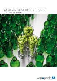Semi-annual report |2010