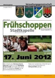 Rundschreiben 23. Woche 2012 (749 KB) - .PDF - Gemeinde ...