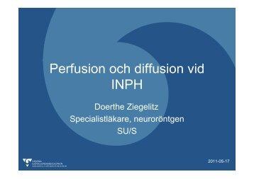Perfusion och diffusion vid INPH