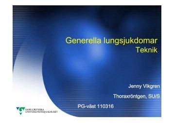 Generella lungsjukdomar