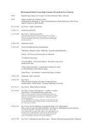 Tillväxtdagen/Politiskt Forum tisdag 22 januari 2013 på Hotel Post ...