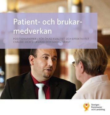 Patient- och brukarmedverkan