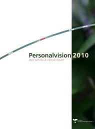 Personalvision 2010 - Västra Götalandsregionen
