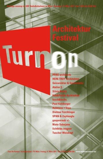 Freitag, 11. März 2011 13.00 bis 19.00 Uhr TU Wien Kuppelsaal im ...