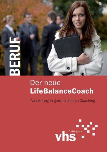 Der neue LifeBalanceCoach - VHS Freising