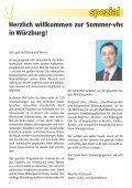Die SOMMER vhs - VHS Würzburg - Seite 4