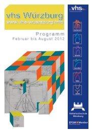 Programm Programm - VHS Würzburg