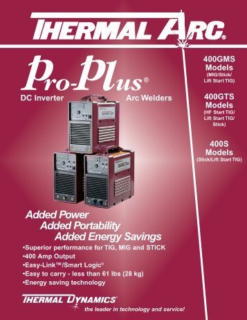 0-0830 Pro-Plus - Victor Technologies