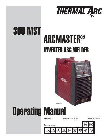 Arc 300 Dc Инструкция - фото 3