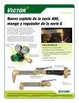 TE ESCUCHAMOS. LOS FABRICAMOS. - Victor Technologies - Page 2