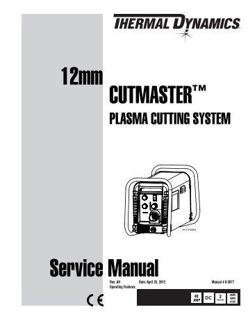 thermal dynamics cutmaster 12mm service manual 0 5077 ah?quality=85 thermal dynamics cutmaster 35mm service manual_(0 5083_aj