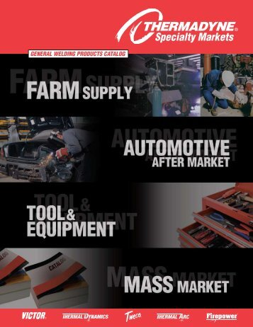 GENERAL WELDING PRODUCTS CATALOG - Victor Technologies