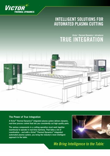 Integrated Solutions Flyer - Victor Technologies - Europe