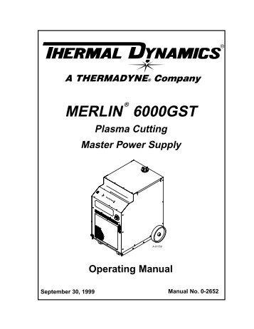 Thermal Dynamics Ultra-Cut 200 Operating Manual_(0