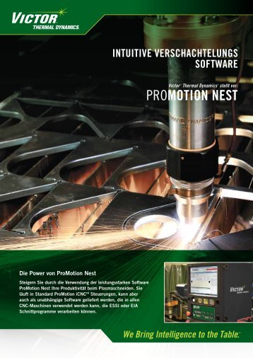 PROMOTION NEST - Victor Technologies - Europe
