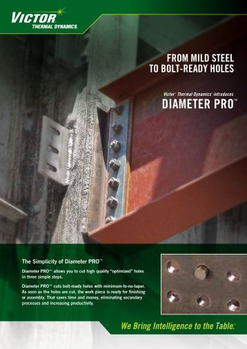 DIAMETER PRO™ - Victor Technologies - Europe
