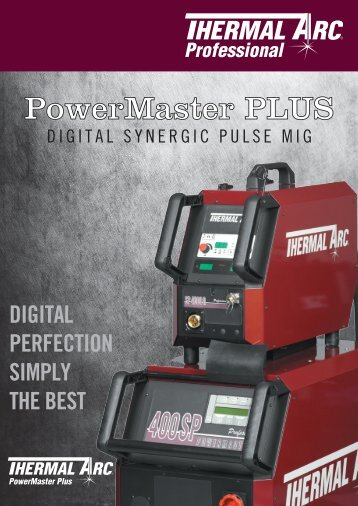PowerMaster SP Series Sales Brochure - Victor Technologies ...