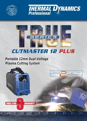 Cutmaster 12 PLUS Brochure - Victor Technologies - Europe