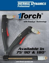 75° 90° & 180° Available in - Victor Technologies - Europe