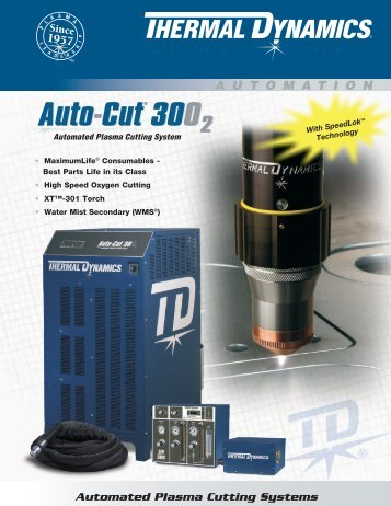 Auto-Cut 300 O2 Sales Brochure - Victor Technologies - Europe