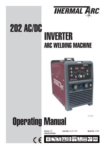thermal arc tigwave 250 ac dc manual