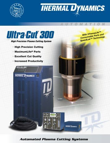 Ultra-Cut 300 Sales Brochure - Victor Technologies - Europe