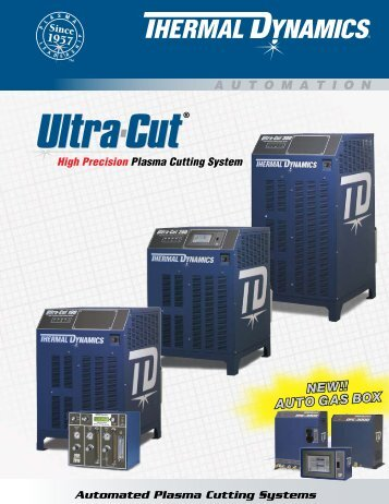 Ultra-Cut Range Brochure - Victor Technologies - Europe