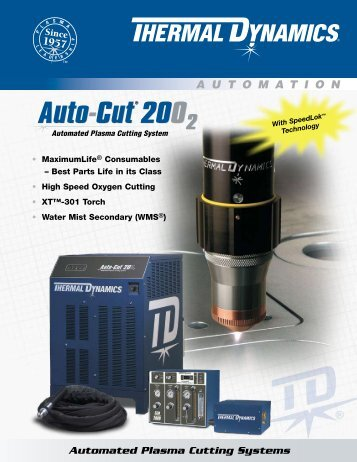 Auto-Cut 200 O2 Sales Brochure - Victor Technologies - Europe
