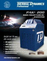 PAK® 200 - Victor Technologies - Europe