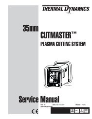 CutMaster True Service Manual - Victor Technologies - Europe