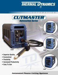CutMaster A Series Sales Brochure - Victor Technologies - Europe