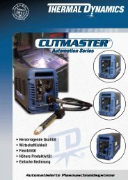 CUTMASTER® CUTMASTER - Victor Technologies - Europe