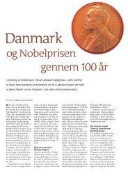 Danmark og Nobelprisen gennem 100 år - Viden (JP)