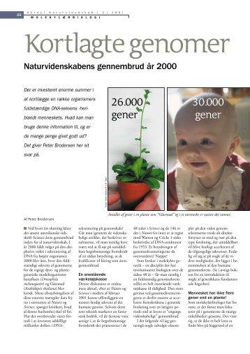 Kortlagte genomer - naturvidenskabens gennembrud år ... - Viden (JP)