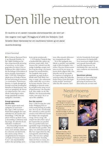 Den lille neutron - Elbo