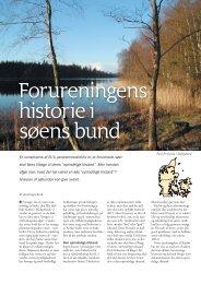 Forureningens historie i søens bund - Viden (JP)