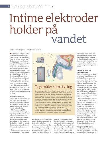Intime elektroder holder på vandet - Viden (JP)