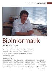 Bioinformatik - fra Århus til Oxford - Viden (JP)
