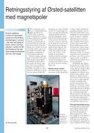 Retningsstyring af Ørsted-satellitten med magnetspoler - Viden (JP)