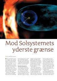 Mod Solsystemets yderste grænse - Viden (JP)