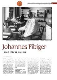 Johannes Fibiger - blandt rotter og rundorme - Viden (JP)