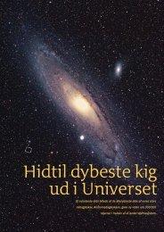 Hidtil dybeste kig ud i Universet - Viden (JP)